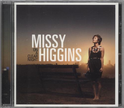 Missy Higgins On A Clear Night CD album (CDLP) US MHZCDON721159