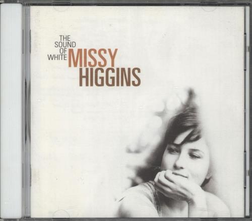 Missy Higgins The Sound Of White CD album (CDLP) Australian MHZCDTH721162