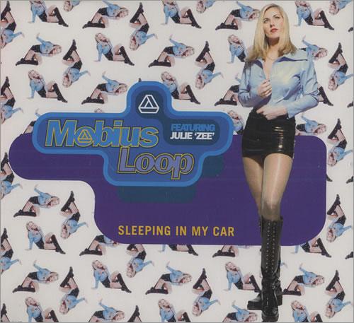 """Mobius Loop Sleeping In My Car CD single (CD5 / 5"""") UK MLPC5SL164693"""
