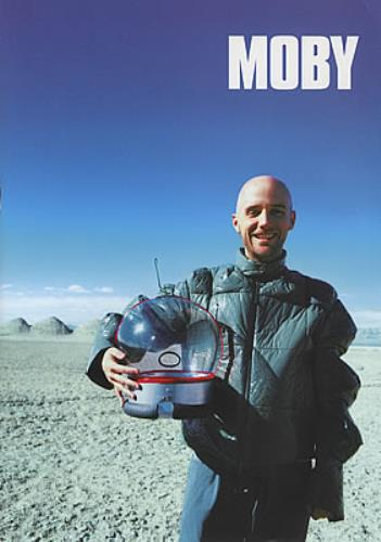 Moby 18 Tour Programme Uk Tour Programme 369665