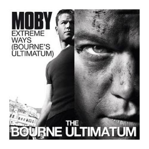 "Moby Extreme Ways [Bourne's Ultimatum] CD single (CD5 / 5"") UK MBYC5EX414046"