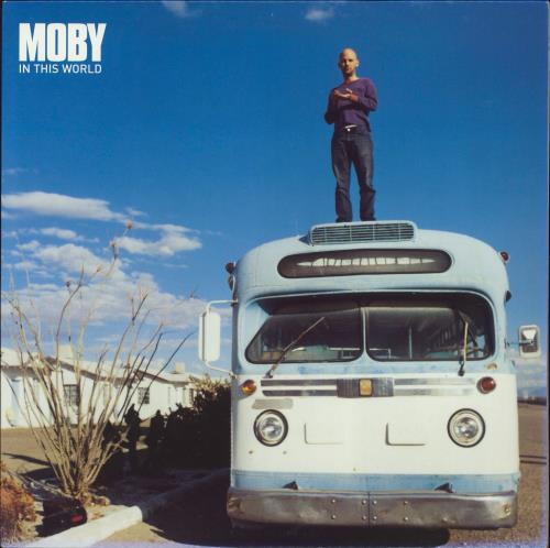 """Moby In This World 12"""" vinyl single (12 inch record / Maxi-single) UK MBY12IN226856"""