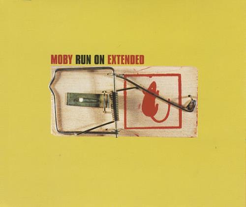 Moby Run On 2-CD single set (Double CD single) UK MBY2SRU391534