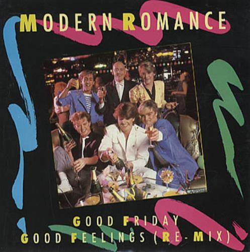 "Modern Romance Good Friday 7"" vinyl single (7 inch record) UK RRM07GO303512"
