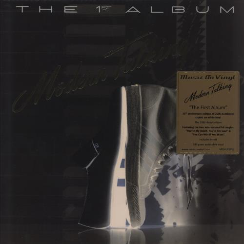 Modern Talking The 1st Album - 180 Gram White Vinyl vinyl LP album (LP record) UK MODLPTH753393