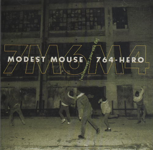 "Modest Mouse Whenever You See Fit CD single (CD5 / 5"") US MUEC5WH469815"