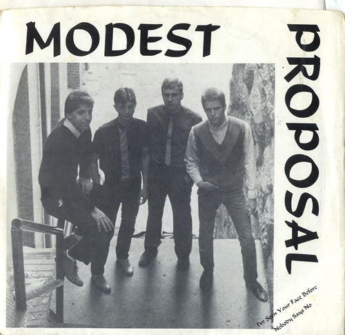 "Modest Proposal I've Seen Your Face Before 7"" vinyl single (7 inch record) US NZD07IV601963"