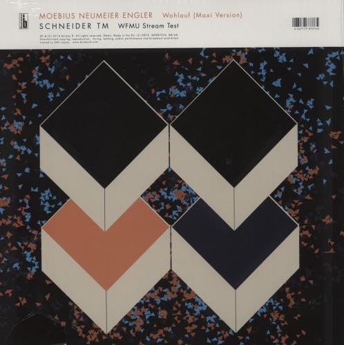 "Moebius Wohlauf / WFMU Stream Test - RSD14 - White Vinyl - Sealed 12"" vinyl single (12 inch record / Maxi-single) UK 17112WO756475"