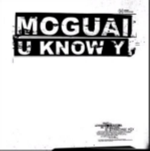 Moguai U Know Y UK CD single (CD5 / 5