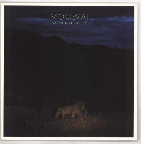 "Mogwai Earth Divisions EP 12"" vinyl single (12 inch record / Maxi-single) UK MGW12EA733629"