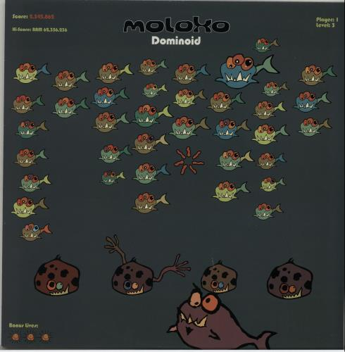 "Moloko Dominoid 12"" vinyl single (12 inch record / Maxi-single) UK MOL12DO646830"