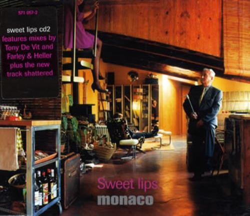 "Monaco Sweet Lips CD single (CD5 / 5"") UK MNAC5SW93737"