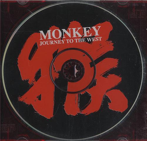 Monkey [Gorillaz] Journey To The West CD album (CDLP) US KE9CDJO449886