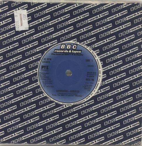 """Monkey Gandhara 7"""" vinyl single (7 inch record) UK NKE07GA664079"""