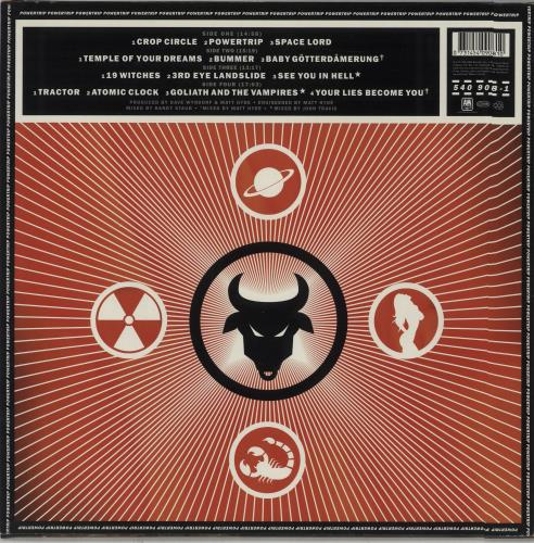 Monster Magnet Powertrip 2-LP vinyl record set (Double Album) UK MMG2LPO669741