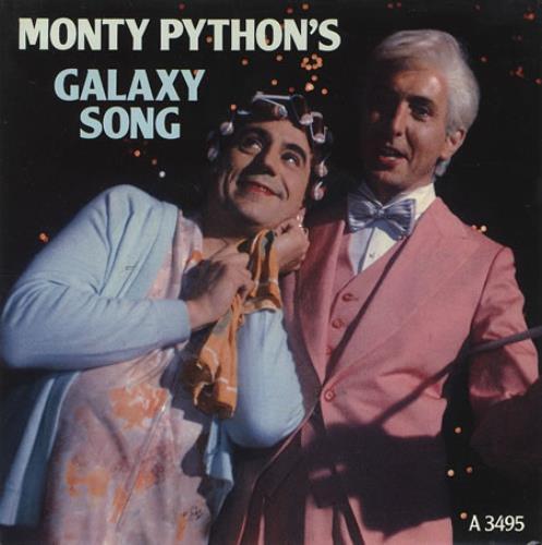 "Monty Python Galaxy Song 7"" vinyl single (7 inch record) UK PYT07GA364221"