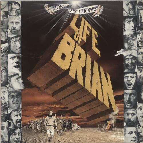 Monty Python Life Of Brian vinyl LP album (LP record) German PYTLPLI728074