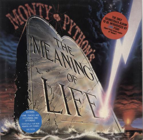 Monty Python The Meaning Of Life vinyl LP album (LP record) UK PYTLPTH715773