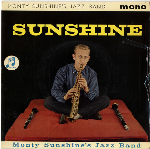 "Monty Sunshine Sunshine 7"" vinyl single (7 inch record) UK 1MS07SU614747"
