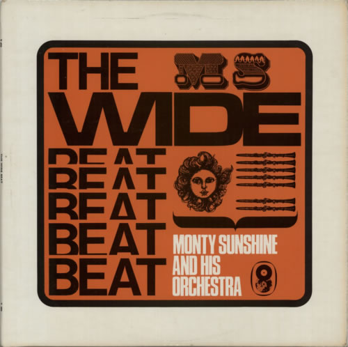 Monty Sunshine Wide Beat vinyl LP album (LP record) UK 1MSLPWI595106