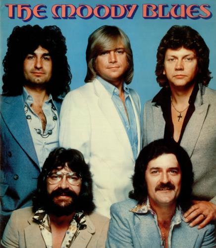 Moody Blues Tour 2020.Moody Blues 1978 Tour Us Tour Programme 452020 Tour Programme
