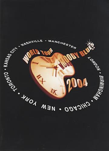 Moody Blues 2004 World Tour tour programme UK MBLTRWO384223