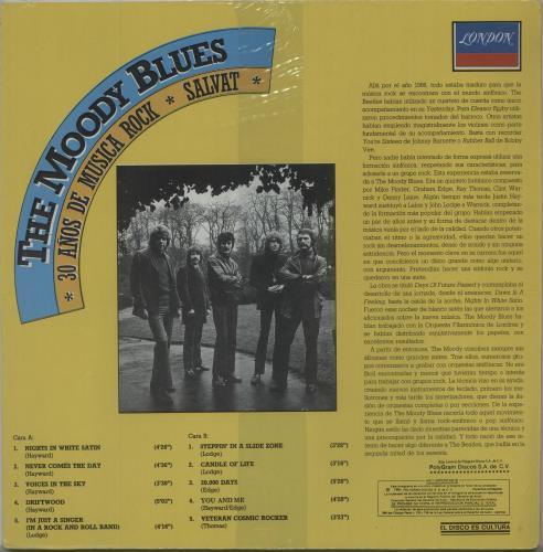 Moody Blues 30 Años De Música Rock - Sealed vinyl LP album (LP record) Mexican MBLLPAO673386