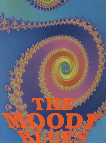 Moody Blues '92 Tour tour programme US MBLTRTO325586