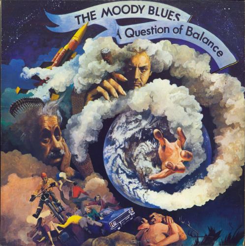 Moody Blues A Question Of Balance - 2nd vinyl LP album (LP record) US MBLLPAQ770947