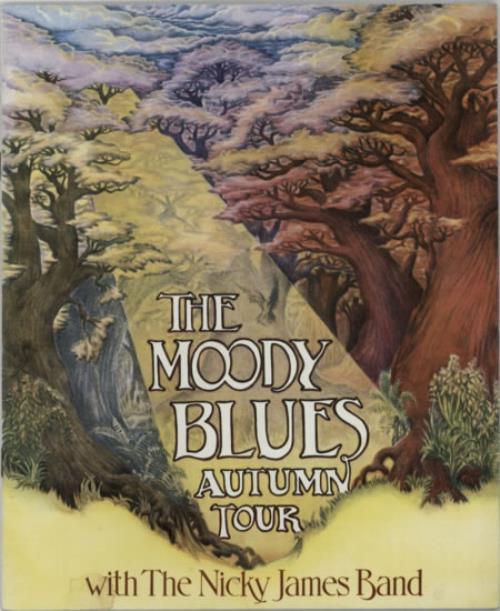 Moody Blues Autumn Tour tour programme UK MBLTRAU335389