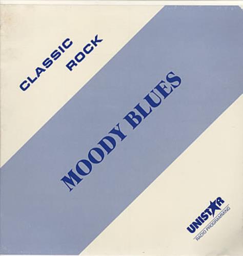 Moody Blues Classic Rock US 3-LP vinyl record set (Triple Album)