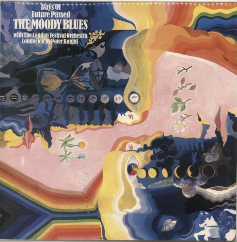 Moody Blues Days Of Future Passed - 4th vinyl LP album (LP record) UK MBLLPDA689847
