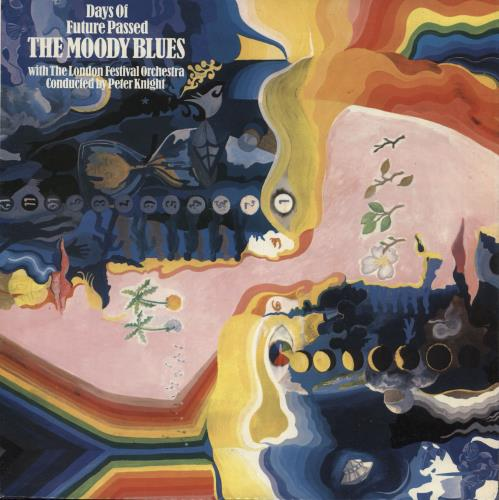 Moody Blues Days Of Future Passed - 5th vinyl LP album (LP record) UK MBLLPDA325544