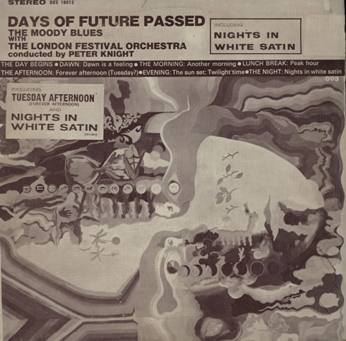 Moody Blues Days Of Future Passed Korean vinyl LP album (LP record)