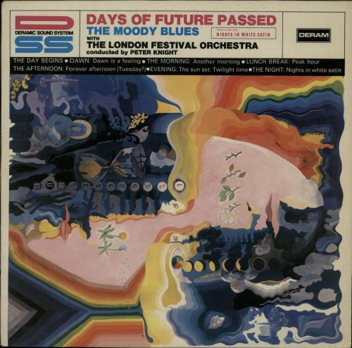 Moody Blues Days Of Future Passed vinyl LP album (LP record) German MBLLPDA653383