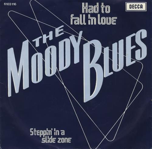 "Moody Blues Had To Fall In Love 7"" vinyl single (7 inch record) Dutch MBL07HA385872"
