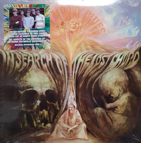Moody Blues In Search Of The Lost Chord - 180 Gram Coloured Vinyl vinyl LP album (LP record) UK MBLLPIN707547