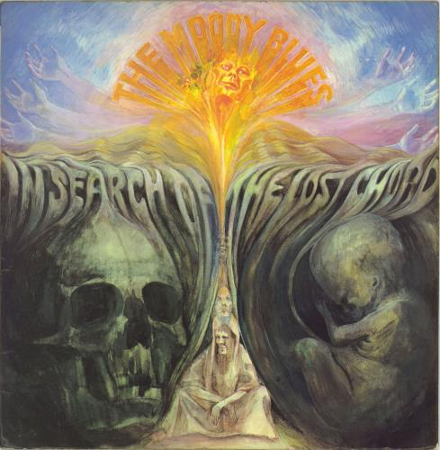 Moody Blues In Search Of The Lost Chord - 1st - EX vinyl LP album (LP record) UK MBLLPIN775386
