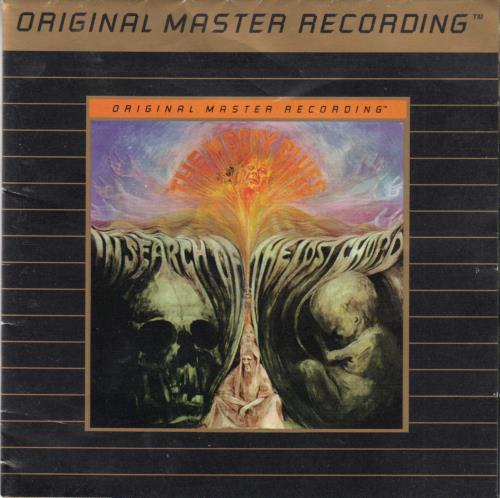 Moody Blues In Search Of The Lost Chord - Ultradisc II CD album (CDLP) US MBLCDIN81573