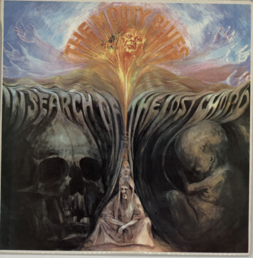 Moody Blues In Search Of The Lost Chord New Zealand Vinyl Lp Album