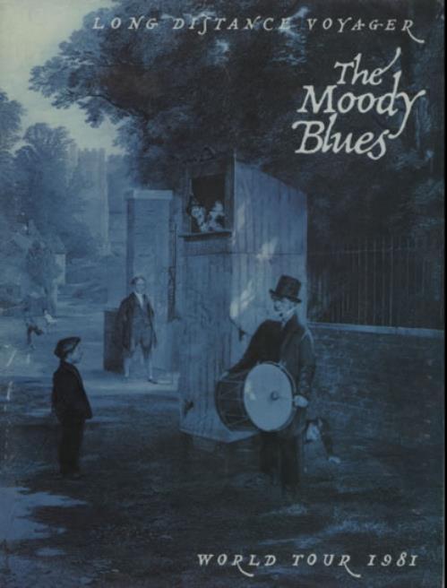 Moody Blues Long Distance Voyage World Tour 1981 tour programme UK MBLTRLO623802