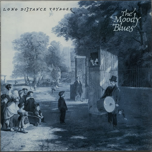 Moody Blues Long Distance Voyager vinyl LP album (LP record) German MBLLPLO632606