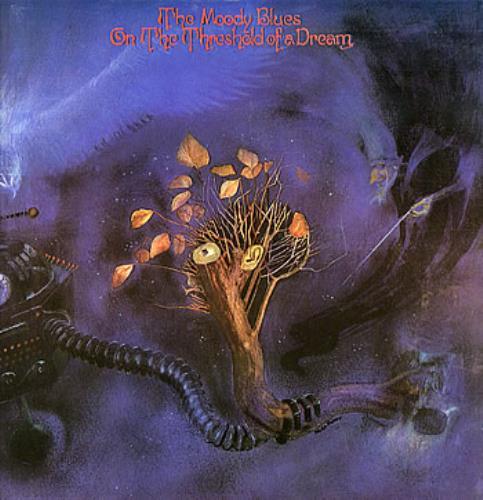 Moody Blues On The Threshold Of A Dream - 1st vinyl LP album (LP record) UK MBLLPON150908