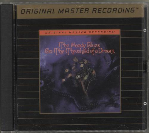 Moody Blues On The Threshold Of A Dream - Ultradisc II CD album (CDLP) US MBLCDON712883