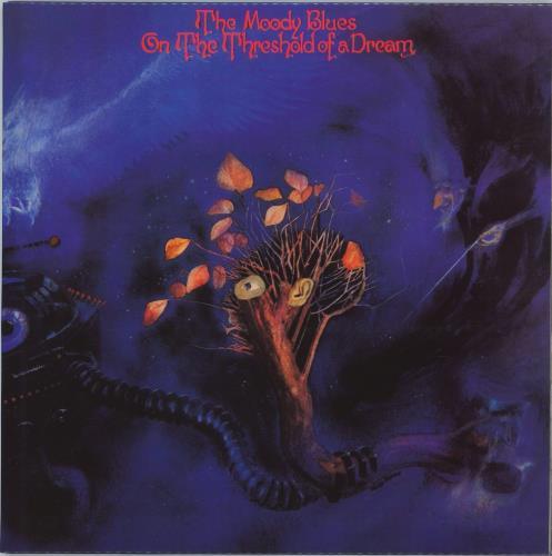 Moody Blues On The Threshold Of A Dream vinyl LP album (LP record) UK MBLLPON771552