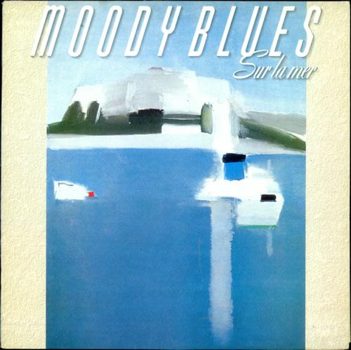 Moody Blues Sur La Mer + lyric inner vinyl LP album (LP record) UK MBLLPSU102692