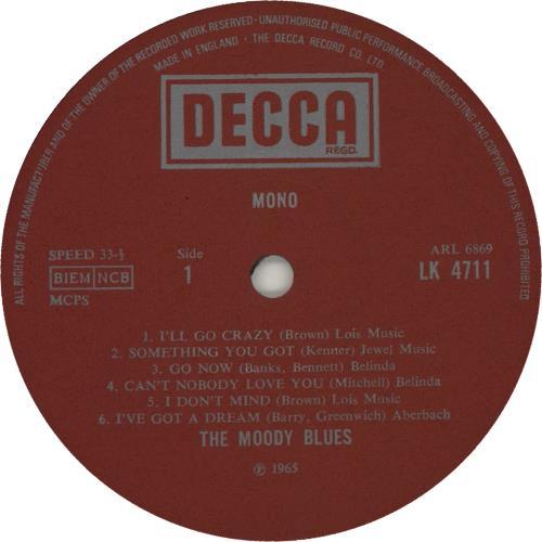 Moody Blues The Magnificent Moodies - 70s - EX vinyl LP album (LP record) UK MBLLPTH616022
