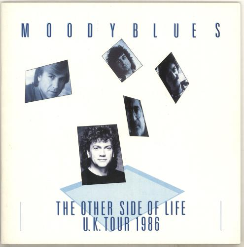 Moody Blues The Other Side Of Life U.K. Tour 1986 tour programme UK MBLTRTH714683