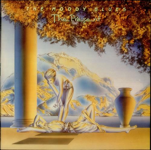 Moody Blues The Present vinyl LP album (LP record) UK MBLLPTH162254