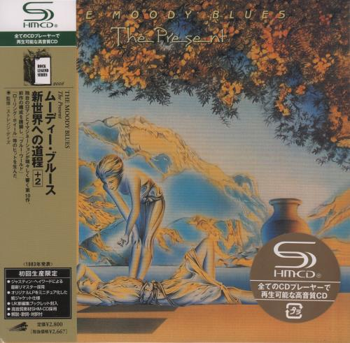 Moody Blues The Present SHM CD Japanese MBLHMTH662213